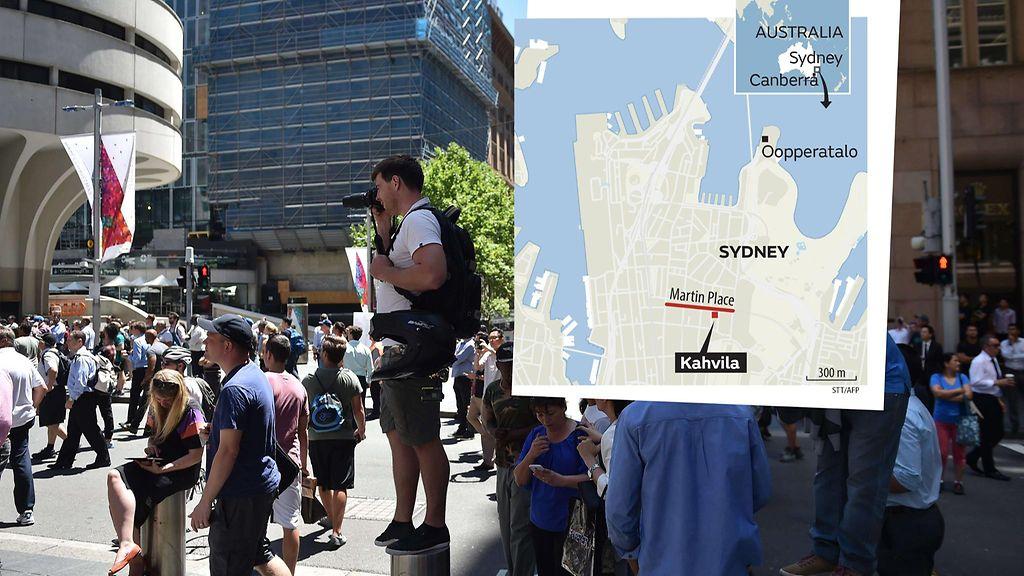 Sydneyn Panttivankitilanne Mita Todella Tiedetaan Mita Ei