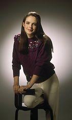 Missi Anna-Liisa Tilus joulukuussa 1989.