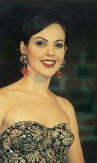 Malli Anna-Liisa Tilus juonsi Venla-gaalaa tammikuussa 1997.
