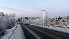 Talvi saapuu viikonloppuna etelään