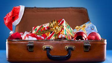 matkalaukku, joulu