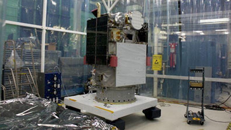 DSCOVR -satelliitti. Kuva: NOAA