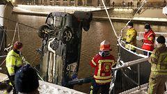 KUVAT: Auto suistui Aurajokeen - Turun seudulla useita peltikolareita