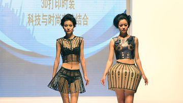 3D-printattuja mekkoja