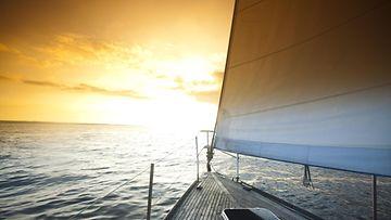 purjehdus, purjehtia, meri