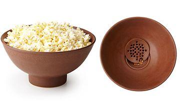 popcorn, keksintö, siivilä
