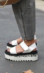 sandaalit, trendi, kengät, katutyyli