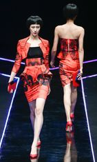 Hao Jia, Spring/Summer 2015, Mercedes Benz China Fashion Week
