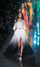 Elie Saab show, Spring Summer 2015, Paris Fashion Week