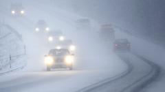 Lumisadealue kulkee hitaasti Suomen yli – ajokeli paikoin huono