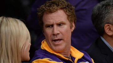 Will Ferrell NBA Lakers 2014