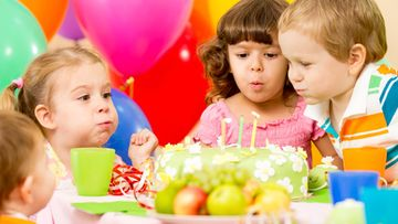 syntymäpäiväjuhlat, lapset