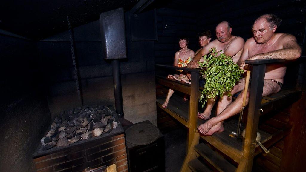 savusaunassa alasti Kuopio