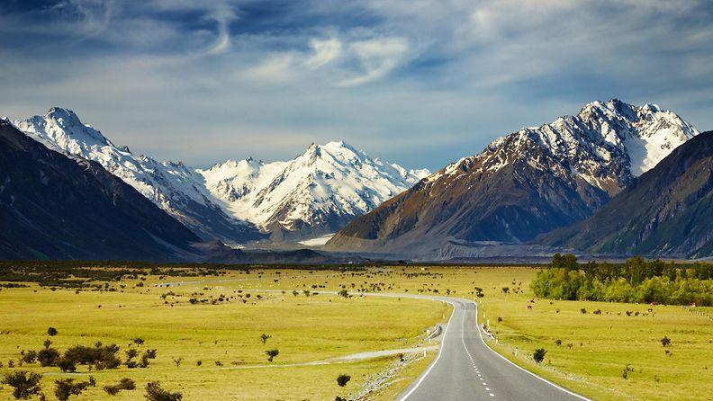 Uuden-Seelannin Alpit
