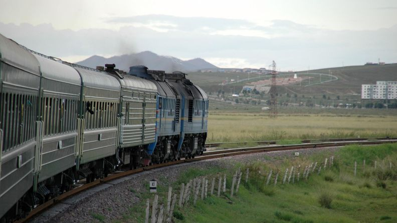 Taking the Trans Siberian railway through Mongolia and Russia