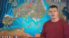 Euroopassa jättimatalapaine: Välimerelle tulvasateita, vuoristoihin sankasti lunta