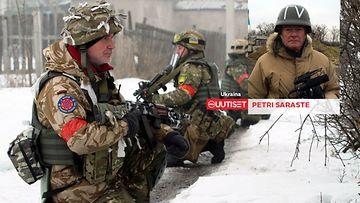 Petri Saraste raportoi Ukrainasta.