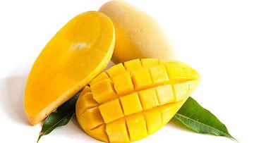 mango, kuutioitu