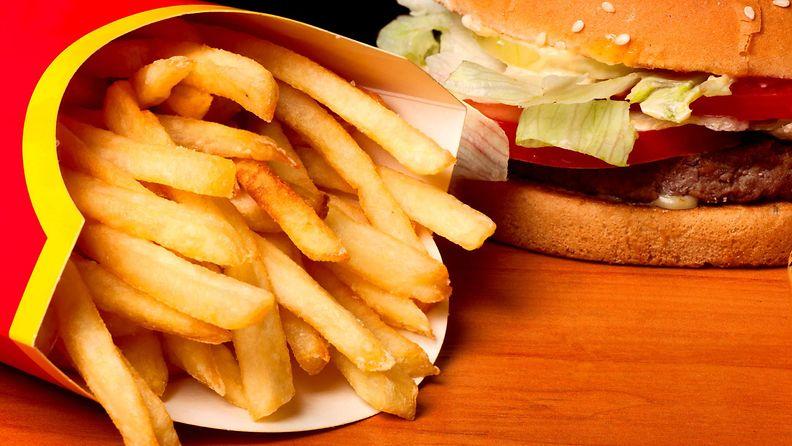 hampurilainen, ranskalaiset, mcdonalds