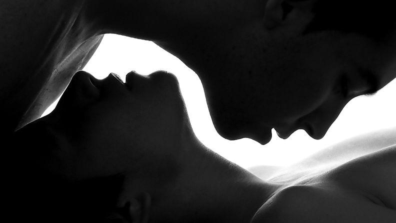 seksi, suudelma, rakkaus