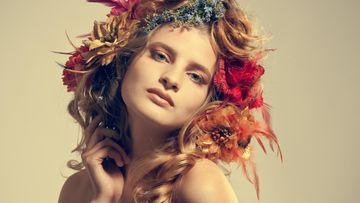 vuodenaika, värityyppi, kukkaseppele