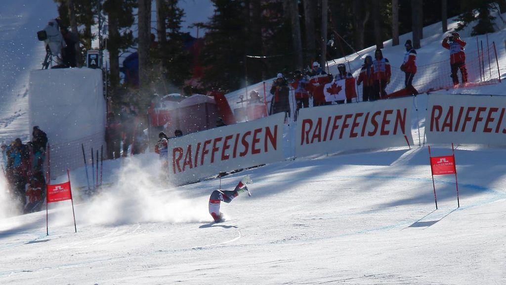 KUVAT: Bode Miller heitti hurjan kuperkeikan MM-rinteessä - Alppihiihto - Hiihtolajit - Sport ...