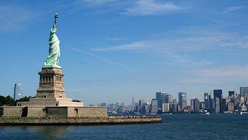 Vapaudenpatsas New Yorkissa.