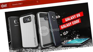 Samsung Galaxy S6 -vuotokuva: Kuvakaappaus CNetin sivuilta