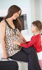 Nainen raskaana (1)