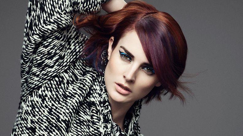Hiukset: Global Color Zoom Creative Team Meikki: Stephanie Kunz  Stailaus: Ingo Nahrwold