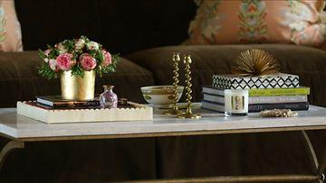 sisustus olohuone pöytä