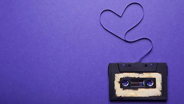 C-kasetti ja sydän
