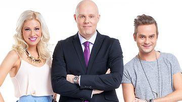 Tuulitunneli: Maisa Torppa, Aki Linnanahde ja Niko Saarinen.