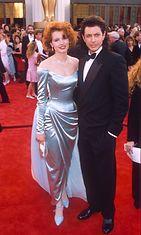 Geena Davis ja Jeff Goldblum vuonna 1989