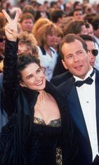 Demi Moore ja Bruce Willis, Academy Awards, Los Angeles, 1989