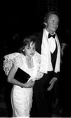 Angelina Jolie ja  Jon Voight vuonna 1986
