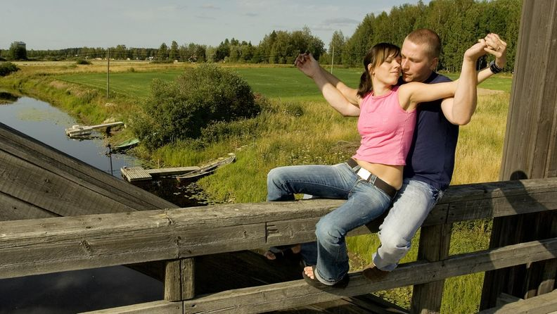 Suomalainen pariskunta
