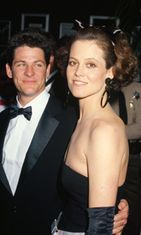 Sigourney Weaver and her husband, stage and film director Jim Simpson