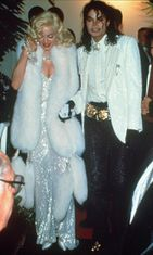 Madonna ja Michael Jackson vuonna 1991.