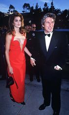 Richard Gere ja Cindy Crawford.