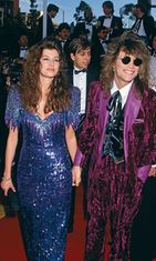 Jon Bon Jovi ja vaimo Dorthea Hurley