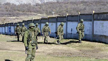 Ukraina tunnuksettomat sotilaat