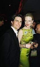 Nicole Kidman ja Tom Cruise vuonna 1997