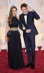 Eddie Redmayne ja Hannah Bagshawe, Oscar-gaala 2015