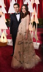 Keira Knightley ja James Righton Oscar-gaalassa 2015. (1)