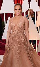 Jennifer Lopez Oscar-gaalassa 2015. (1)