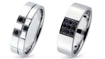 Thomas Narsakan suunnittelema, sukupuolineutraaliin avioliittoon suunniteltu sormusmallisto. (1)