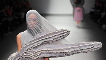 Central Saint Martins MA show, Xinyuan Xu