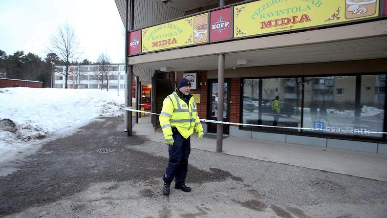 Laukaa poliisi pitseria pizzeria