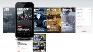 MTV Uutiset, sovellus, mobiili